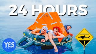 STRANDED AT SEA FOR 24 HOURS (shark-filled waters)