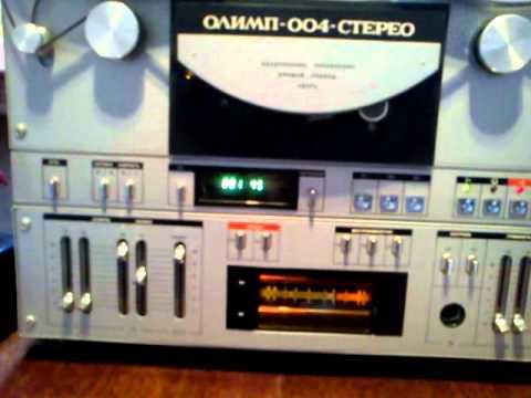 Магнитофон Олимп 004 (RTR