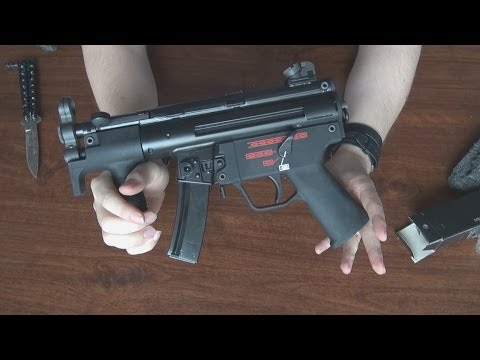 "(Airsoft) Unboxing the MP5K WE ""Apache"""