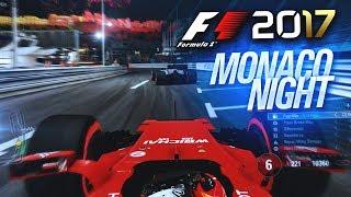 F1 2017 GAMEPLAY: MONACO NIGHT RACE