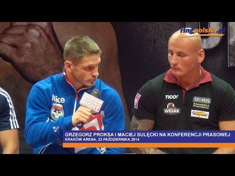 Proksa Vs Sulęcki: Konferencja Prasowa W Krakowie        ::: Adamek Vs Szpilka