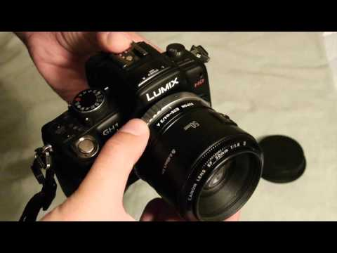 Kipon Canon EOS to Micro 4/3 Adapter Review