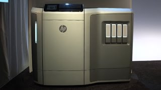 HP's new Multi Jet Fusion 3D printer: First Look