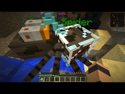 Etho's Modded Minecraft #23: Scuba Spider video