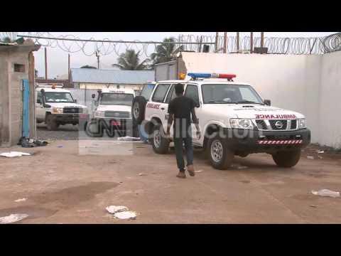 LIBERIA: EBOLA HOSPITAL OPENS (GRAPHIC)