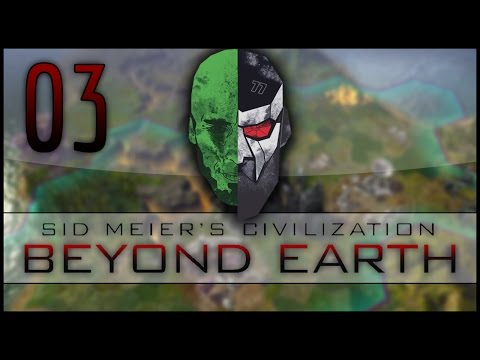 Civilization: Beyond Earth Co-op LP — MadDjinn and Docm77 take on the Aliens — EP03