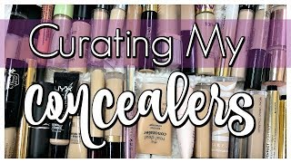 DECLUTTER | Curating My Concealer Collection