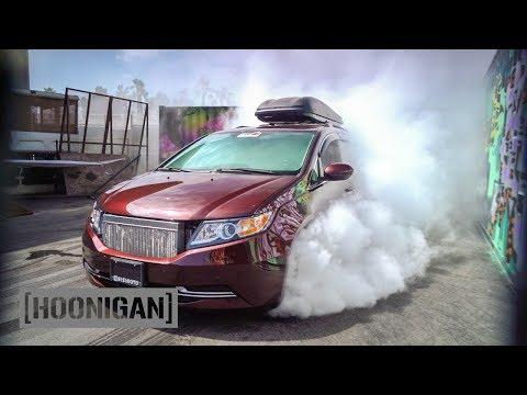 [HOONIGAN] DT 052: 1000HP Minivan Burnout (Bisimoto)