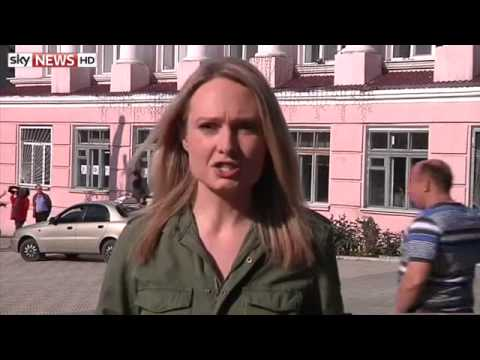 Eastern Ukraine Regions Vote On Self-Rule