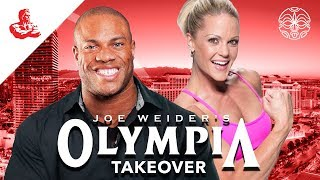 #OlympiaTakeover 💪