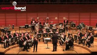 Black Dyke Band plays The Holy Well (Soloist: Katrina Marzella) @ World Band Festival Luzern 2015