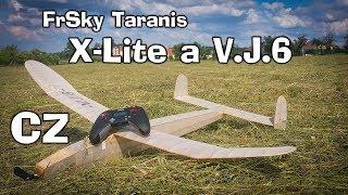 FrSky Taranis X-Lite - krátké představení a let s V.J.6