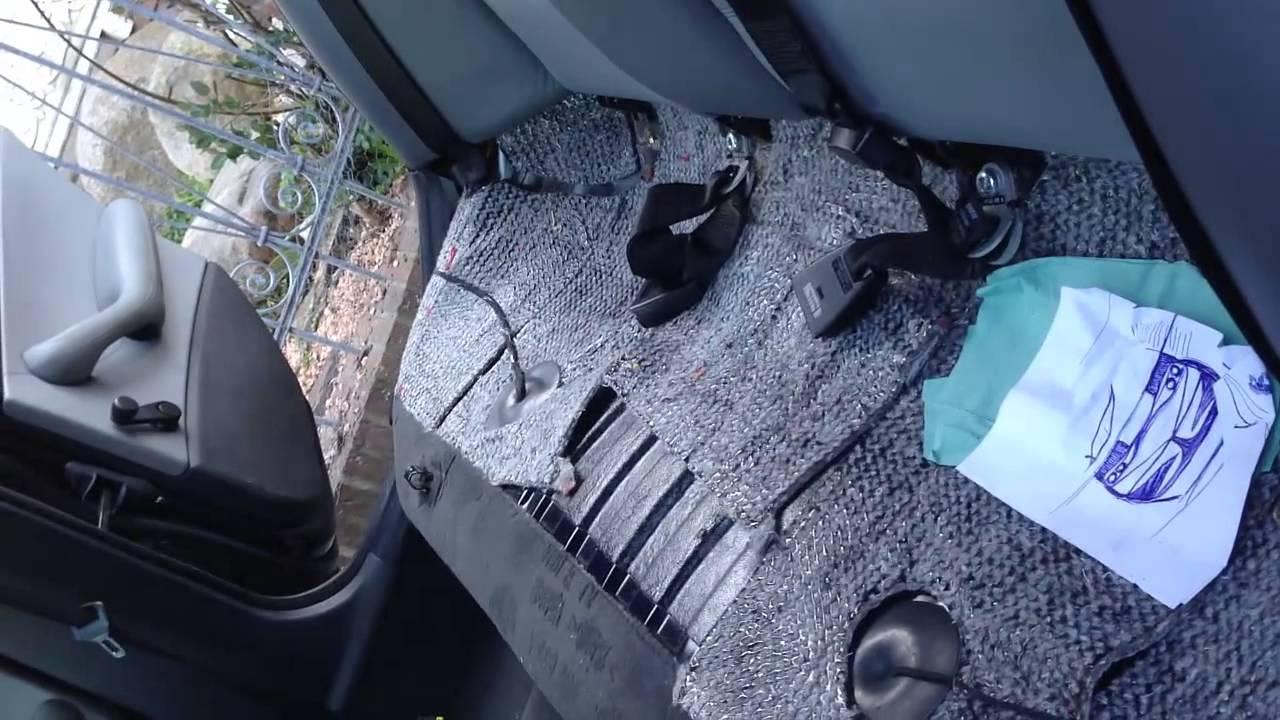 E46 Limo R 252 Ckbank Aussbauen Back Seat Remove