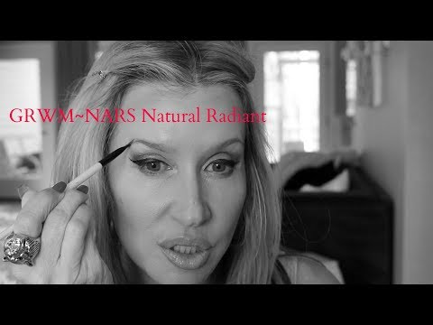 GRWM~ NARS Natural Radiant Longwear Foundation
