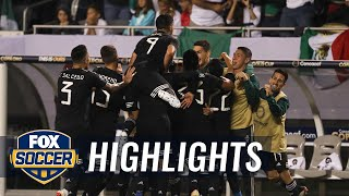 Jonathan dos Santos gives Mexico 1-0 lead vs. USMNT | 2019 CONCACAF Gold Cup Highlights