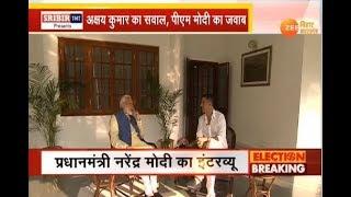 दिल्ली: पीएम मोदी के साथ अक्षय कुमार की बातचीत