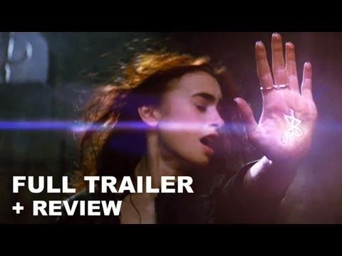 Mortal Instruments City of Bones Official Trailer 2013 + Trailer Review : HD PLUS