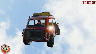 GTA 5 Online: Getting Wrecked! - GTA 5 Mini-Games Online Gameplay w/ The Crew