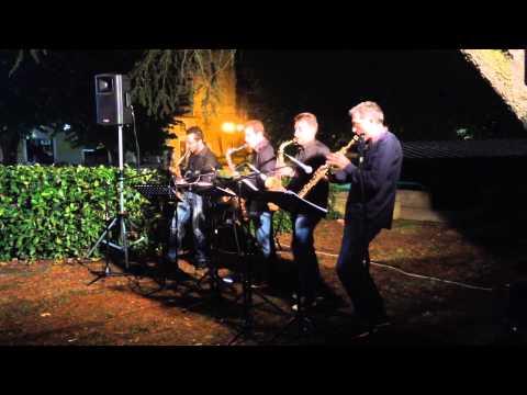 Saxopedia Quartet - Happy (Pharrell Williams sax cover)