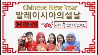 Malay Speaking Korean : 말레이시아의설날 Malaysia's Seollal = Chinese New Year ?