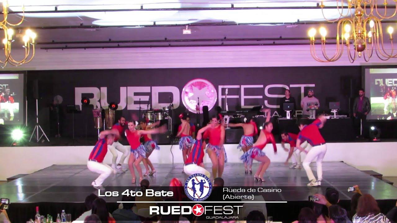 Los 4to Bate (Rueda de Casino Abierta)   Ruedafest 2015   Guadalajara
