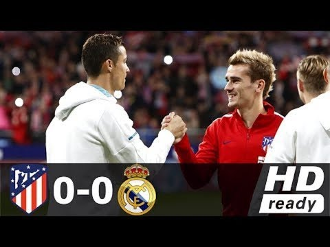Atletico Madrid vs Real Madrid (0-0) | ALL GOALS & HIGHLIGHTS 18/11/2017 HD thumbnail