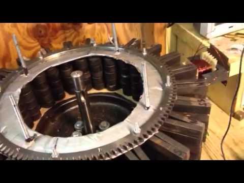 Ed Leedskalnin Magnetic  flywheel