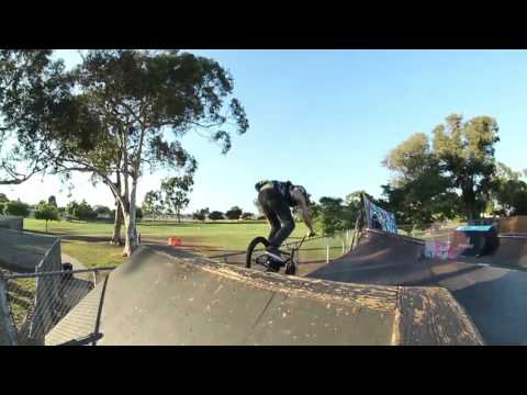 Alex Hiam - Colony BMX - Throwaway footage