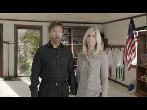 Chuck Norris warning to America and challenge to all churches (Sept. 2012)