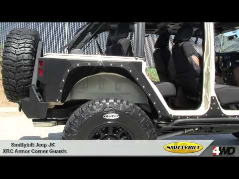Smittybilt - XRC Armor Corner Guards for Jeep JK Wrangler - Jeep Body Protection