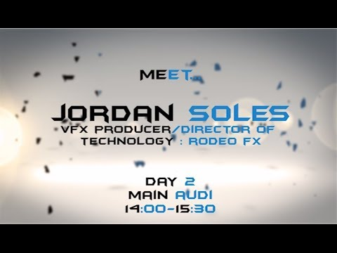 Talk #5: Jordan Soles Director of Technology - The Hunger Games - Now You See Me - Mission Impossible- Ghost Protocol - Amazing Spider Man - Pacific Rim - Te...