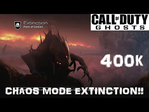 Chaos Mode Extinction 400k Solo!! (Point of contact)