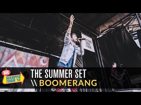 The Summer Set - Boomerang (Live 2014 Vans Warped Tour)