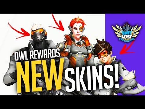Overwatch - New Twitch Skins and Emotes! Overwatch league REWARDS!