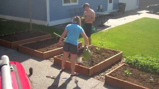 Planting A Western Washington Vegetable Garden in 3 Minutes