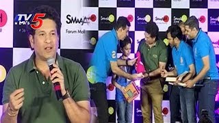 Sachin Tendulkar Launches Smaaash Gaming Zone At Forum Mall | Kukatpally