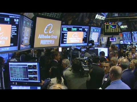Alibaba now trading on NYSE