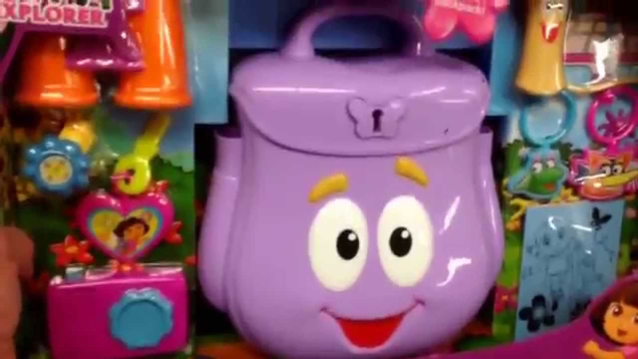 Dora The Explorer Explorers Backpack Backpack Map And