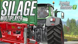 Making Corn Silage in Multiplayer in Goldcrest Valley