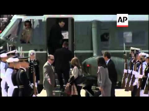 EUROPEAN, JAPANESE LEADERS ARRIVE FOR SUMMIT