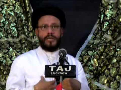 Majlis-e-isaal-e-sawab Marhoom Maulana Kalbe Abid Saheb At Husainiya Ghufranmaab, Lucknow 2012 video