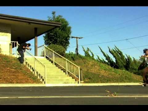Shane O'neill nollie bs heel 15 stair