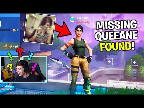 JENSENSNOW Found QUEEANE, The Missing Fortnite Girl.. (Fortnite)