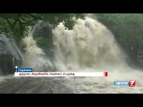 Ban for bathing in Courtallam falls | News7 Tamil