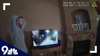 Raw Chris Watts Reacts To Neighbor 39 S Surveillance Footage