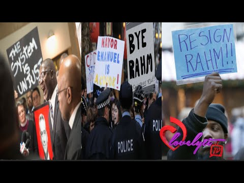 Chicago Protesters call for Rahm Emanuel to step down