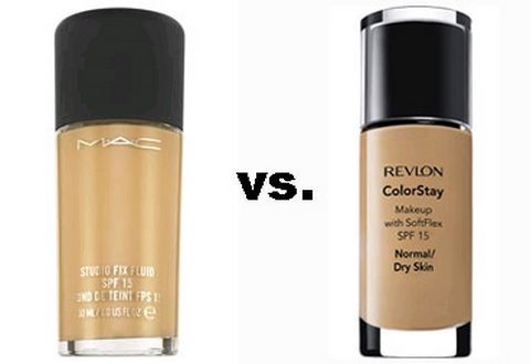 MAC vs. Revlon foundation Video