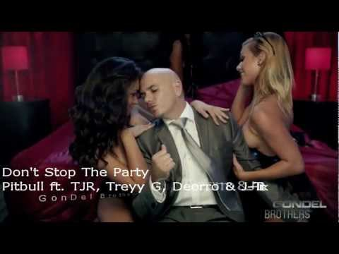 Pitbull Ft. Tjr - Don't Stop The Party ( Official Remix ) Hd video