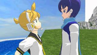[MMD] Kaito wants to take Len to the gay bar