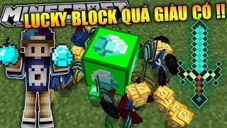 ĐỪNG NÊN ĐẬP LUCKY BLOCK NÀY VÌ NÓ QUÁ GIÀU !! | Good Lucky Block